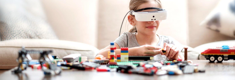 Το επαναστατικό βοήθημα χαμηλής όρασης eSight μόνο στο Ινστιτούτο Ophthalmica