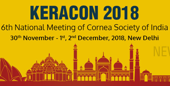Το Ινστιτούτο Ophthalmica στο KERACON 2018 - 6th National Meeting of Cornea Society of India