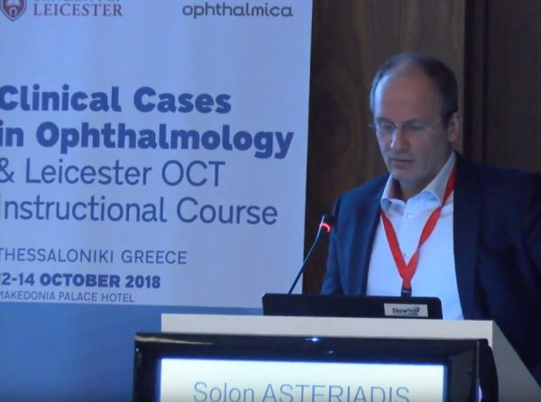 Σόλων Αστεριάδης MD, FRCS - OCT and Chroidal assessment from Clinical Cases in Ophthalmology & The Leicester OCT Instructional Course