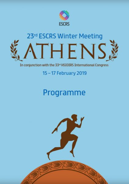 Το Ινστιτούτο Ophthalmica στο 23rd ESCRS Winter Meeting