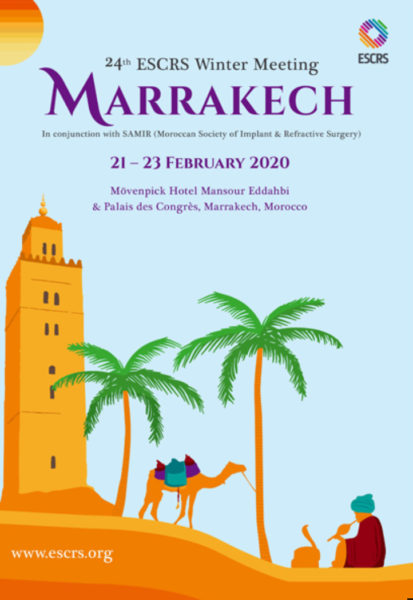 Το Ινστιτούτο Ophthalmica στο 24th ESCRS Winter Meeting 2020, Marrakech